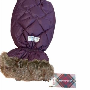Eddie Bauer Goose Down Quilted Ice Scraper Cover